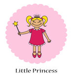 Little princess Stock Photography