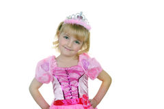 Little  princess in pink Royalty Free Stock Photography