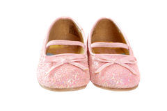 Little princess shoes Stock Photos