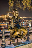 Little Princess Statue in Budapest Royalty Free Stock Photography