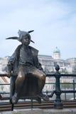 Little Princess Statue Budapest Hungary Stock Photos
