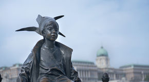 Little Princess Statue Budapest Hungary Stock Images