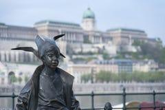 Little Princess Statue Budapest Hungary Royalty Free Stock Photos