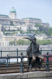 Little Princess Statue Budapest Hungary Royalty Free Stock Photography