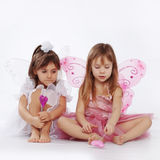 Little princesses Royalty Free Stock Photography