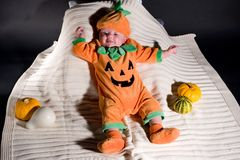 Little pumpkin Royalty Free Stock Photos