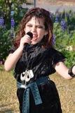 Little Punk singer Stock Images