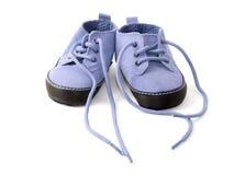 Little purple booties Royalty Free Stock Image