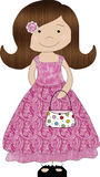 Little Purse Girl 2 Stock Images