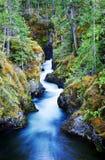 Little Qualicum Falls Provincial Park stock photo