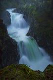 Little Qualicum Falls. Little Qualicum Provincial Park, Parksville, Qualicum, British Columbia, Vancouver Island, Canada, Waterfall Royalty Free Stock Photo
