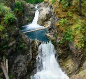 Little qualicum falls Royalty Free Stock Image