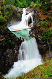Little qualicum waterfall Stock Photography