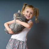 A little queer girl_2 Stock Photo