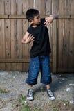 Little rapper Stock Image