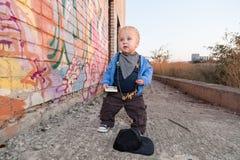 Little rapper Royalty Free Stock Photo