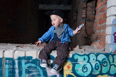 Little rapper Stock Images