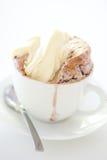 Little raspberry souffle royalty free stock photos