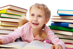 Little reader Stock Photos