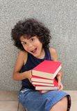 Little reader Royalty Free Stock Photos