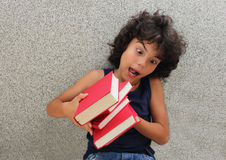 Little reader Stock Image