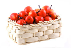 Little red apples. Stock Image