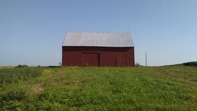 little red barn royalty free stock image