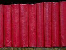 Little red books Royalty Free Stock Photography