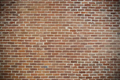 Little red bricks wall background. With space for your text and royalty free stock photo