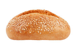The little red-cheeked French bun with sesame seed Stock Images