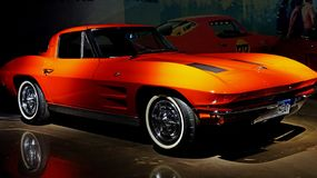 Little Red Corvette royalty free stock image