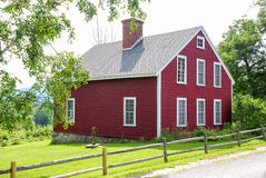 Little Red Cottage Royalty Free Stock Photos
