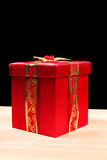 Little Red Gift Box Stock Images