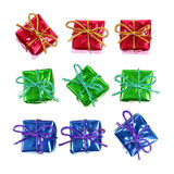 Little red gifts Royalty Free Stock Photography