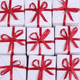 Little red gifts Stock Photography