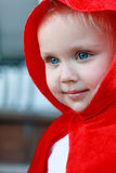 Little red hood Stock Photos