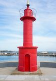 Little red lighthouse Royalty Free Stock Photos