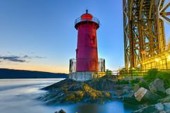 Little Red Lighthouse - New York Royalty Free Stock Images