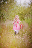 Little red ridding hood Royalty Free Stock Photos