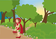 Little Red Riding Hood Royalty Free Stock Photos
