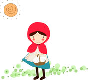 Little Red Riding Hood 2 Royalty Free Stock Photography