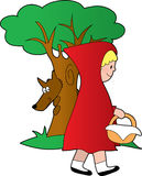 Little Red Riding Hood Royalty Free Stock Images