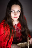 Little red riding hood Royalty Free Stock Photo
