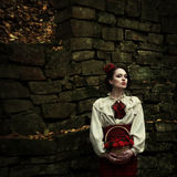 Little Red Riding Hood. Fairy tale Royalty Free Stock Photos
