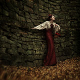 Little Red Riding Hood. Fairy tale Stock Photo