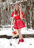 Little Red Riding Hood. royalty free stock photography