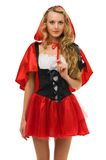 Little Red Riding Hood shape Royalty Free Stock Image