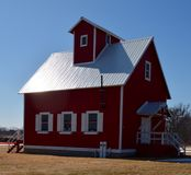 Little Red School House Royalty Free Stock Image