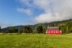 Little red school house Royalty Free Stock Photos