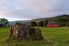 Little red school house royalty free stock images